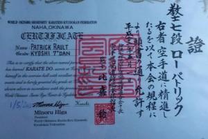 certificats grades
